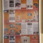 Werbung für unseren Verein, für Touristen, die unsere Schule besuchen, Anträge für Patenschaften liegen im Office bereit (deutsch/englisch)