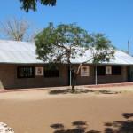 Die zwei neuen Klassenräume, Fertigstellung März 2014
