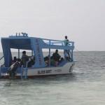 Auch keiner der Lehrer hatte jemals zuvor in einem Boot gesessen, entsprechend war die Furcht