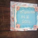 Und eine Torte gab es zur Feier des Tages auch!