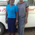 Deputy Headmaster Mrs.  Liberty Manager Tuko Pamoja Kenya e.V. Mrs. Francy