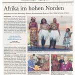 Afrikatag Zeitung