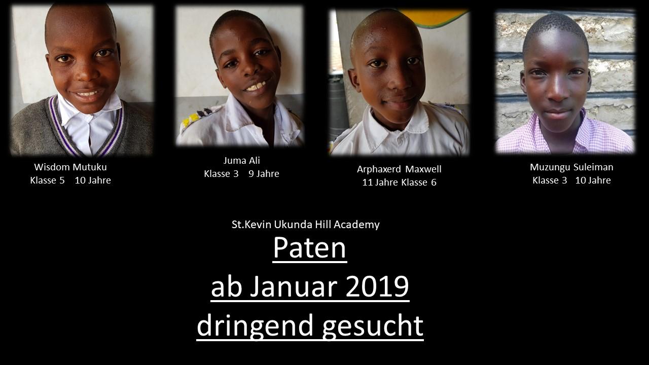 Kinder ohne Paten ab Januar 2019